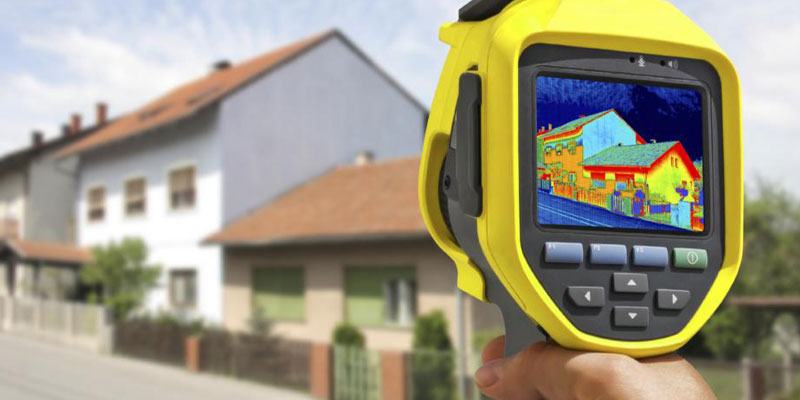 Home energy audit of homes