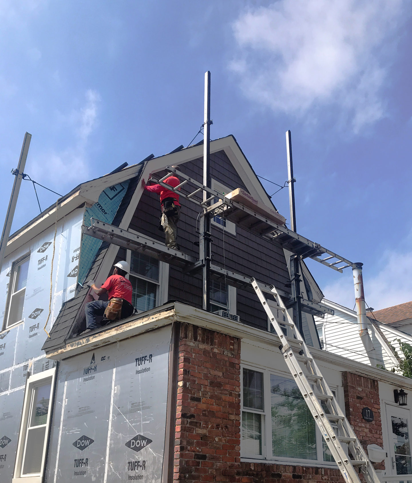 simply workers doing siding