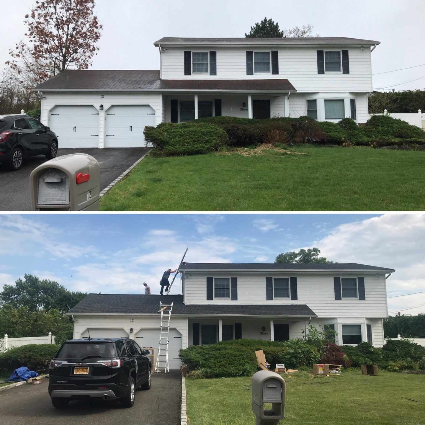 New solar and roof compare